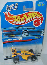 #700 - shock factor-Yellow/Blue - 1:64 HOT WHEELS 1997