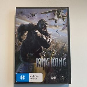 King Kong  - DVD - Region 2,4,5 Pal - New