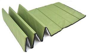 Olive Z Folding Sleeping Mat Thermal Fold Mat Army Outdoor Camping Mattress Gree