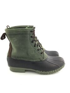 """LL Bean Small Batch Boot 8"""" Leather Chamois Lined"""