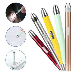 Ear Cleaner Set LED Light Earpick Earwax Remover Ear Cleaning Spoon Curette 637