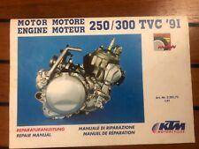 Manuel reparation usine KTM vintage 250 300 TVC vintage 1990 1991 1992 type 546