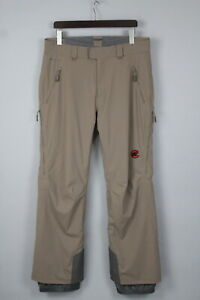 MAMMUT DRYTECH MEMBRANE Men's EU/D 52 Flexible Ski Wear Trouser 17128 JL