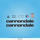 Cannondale R600 Bicycle Decals - Transfers - Stickers - Black - Set 0509