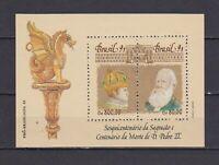S19278) Brasilien Brazil 1991 MNH Neu Brazilian 93 S/S