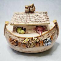 Vintage Treasure Craft Noah's Ark Cookie Jar Made in USA