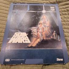 Starwars Star Wars OG version a new hope IV debut CED rare format