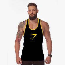 Herren Muskelshirt Tanktop Achselshirt Gym Sport T-Shirt Bodybuilding Hemd Neu