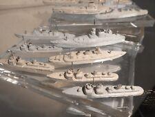jouets mini bateaux en plomb