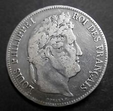 Ecu de 5 Francs - 1835 K  LOUIS-PHILIPPE I - II° Type Domard - Tranche relief