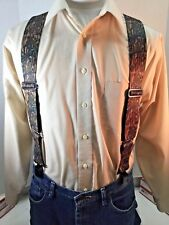 "New, Men's, Break-Up Camouflage, XXL, 2"", Adj. Suspenders / Braces, Made n USA"
