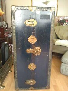 antique trunk, excellent condition
