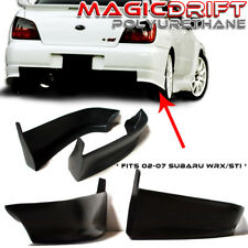 02-03 Impreza WRX / STi Sedan OE Style Rear Bumper Lip Splash Mud Guard Urethane