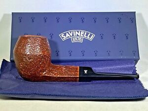 Savinelli...Hercules Rusticated...510EX..New In Box/Unsmoked..Italy..No Filter