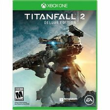 Xbox One 1 Titanfall 2 Deluxe Edition NEW Sealed REGION FREE USA Game