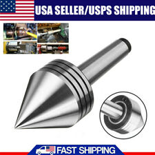 1pc Mt2 60 Live Lathe Bearing Tailstock Center For Metal Amp Wood Turning Tool Us