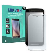 Clear PET Mobile Phone Screen Protectors for Motorola Moto G