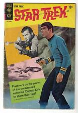 STAR TREK 2 COMIC Advert back VARIANT Mid Grade Spock  3.5 rare GOLD KEY 1968