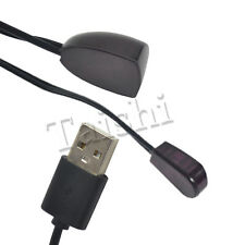 Black USB Adapter IR Infrared Remote Control Receiver Extender Repeater Emitter