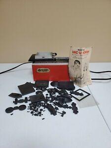 Vintage 1962 MATTEL Vac-U-Form Plastic Molding Toy Maker Tested and Works