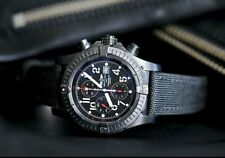 Breitling Limited Special Edition Super Avenger Blacksteel M13370 Chrono 300M