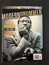 Modern Drummer Magazine December 2007  Max Roach -Special Tribute Issue