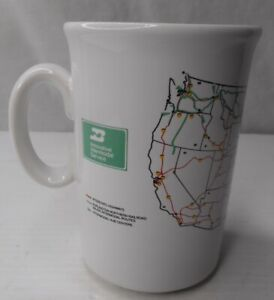 Burlington Northern Railroad Innovative Intermodal Service Coffee/Tea  Mug Cup