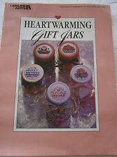 Heartwarming Gift Jars Cross Stitch Pattern Book Holiday Santa Pumpkin Birthday