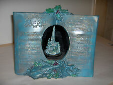 """VINTAGE MUSIC  BOX  TURN  WITH  LETTER SONG '' SILENT NIGHT"""""""""""