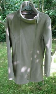 Bench Fleece Mantel Long Jacke L taupe top Zustand