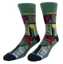 Star Wars Boba Fett Character Crew Socks