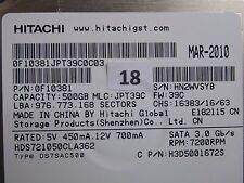 500gb HITACHI hds721050cla362 | MLC: jpt39c | mar-2010 #18