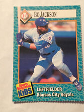 1989 SI for Kids  BO JACKSON #75 Kansas City Royals