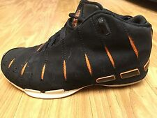 WADE Converse Basketball Shoes-Black and Orange (Men Size7)