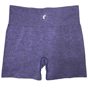 Zyia Active Hustle Seamless Women's Shorts In Purple Size XL