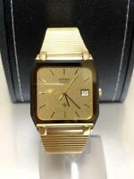 Rado Vintage Watch Gold date Quartz wl4280