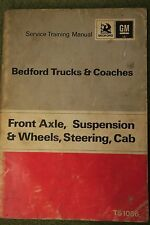 Bedford Trucks Coach TK Workshop Service Manual TS1086 Axle suspension steering