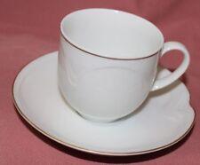 Kaiser Domino Form 130 Goldrand 2 Kaffeegedecke 2-tlg Tasse Untere 26703 + 26710