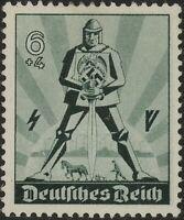 Stamp Germany Mi 745 Sc B171 1940 WW2 3rd War Party Labor Day May Knight MNH