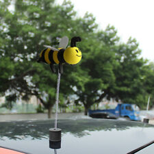 1x Car Aerial Ball Smiley Honey Cute Bumble Bee Decor Topper Antenna Accessories