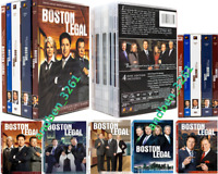 BOSTON LEGAL: The Complete Series Season 1-5 (DVD, 28-Disc) US Seller New & Seal