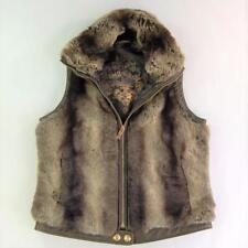 Big Chill Vest Women Faux Fur Size M