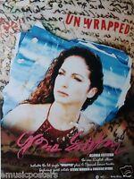 "GLORIA ESTEFAN ""UNWRAPPED"" THAILAND PROMO POSTER - Sexy Latin Pop Music"