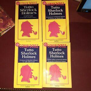 Tutto Sherlock Holmes - A. C. Doyle - 4 volumi - Newton