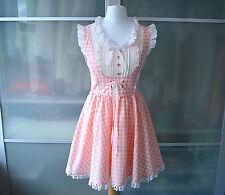 Authentic Liz Lisa Rose Vichy bergère robe ~ Japon ~ lolita ~ japonais
