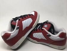 Vintage DVS RED WHITE LEATHER CONTRA 11 New No Box Size 11 Rare