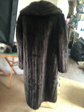 Unbranded Knee Length Faux Fur Coats & Jackets for Women