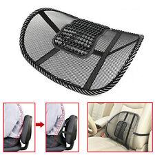 Cool Office Chair Car Seat Cover Sofa Massage Cushion Lumbar Back Brace Pillow