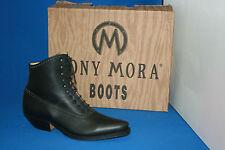 tony mora boots stiefelette westernstiefel leder neu  gr. 38