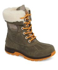 New listing New in Box Ugg Butte Ii Camo Leather Unisex Snow Kids Snow Boots Size 4 or 5